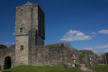 A Scottish Castle Ruins On A S...