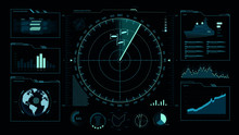 Command Center, User Interface, Game, Radar, Sonar