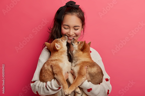 Fotomural  Love, tender, warm feeling and understanding without words