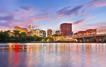 The Skyline Of Hartford, Conne...