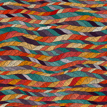 Seamless Embroidered Pattern. ...