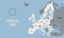 EU Poster Map. European Union ...