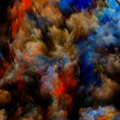 canvas print picture - Diversity of Virtual Color