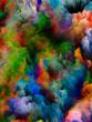 canvas print picture - Evolving Virtual Color