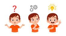 Happy Cute Kid Boy Search Idea...