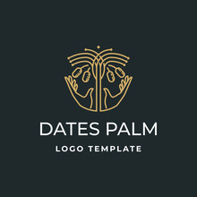 Luxury Badge Dates Palm With H...