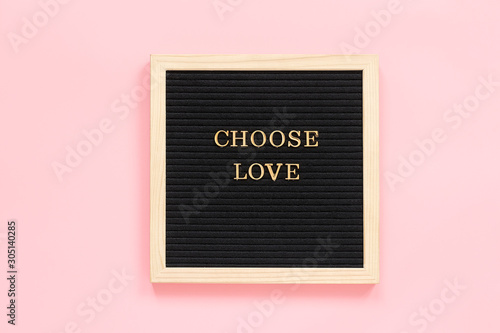 Photo  Choose love