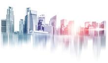 Abstract City Building Skyline...