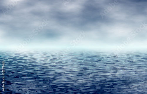 ocean with horizon © Photo&Graphic Stock