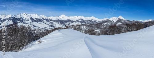 Photo Chaine du Puy mary sous la neige