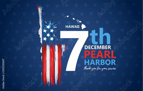 Fotografie, Obraz Pearl Harbor, Hawaii remembrance day