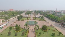 View From The Top Of Patuxai M...