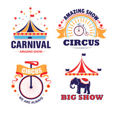 Circus Show And Carnival Isola...