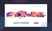 Modern Textile Factory Website...