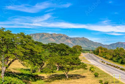 'Sierra Maestra' mountains, Santiago de Cuba city, Cuba Slika na platnu