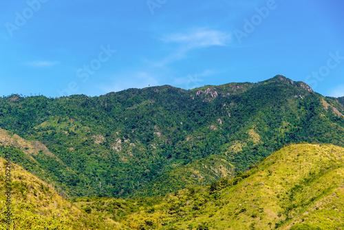 'Sierra Maestra' mountains, Santiago de Cuba city, Cuba Fototapeta
