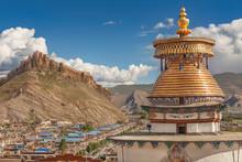 Magnificent Kumbum Stupa In Gy...