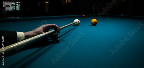 Fototapeta  Pool table