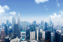 Malaysia City Skyline