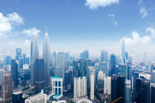 Fotografía  Malaysia city skyline