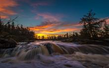 A Beautiful Sunrise Over The W...
