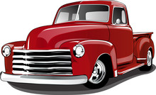 40s Style Vintage Pickup Truck