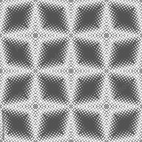 Simple seamless pattern with geometric texture Canvas Print