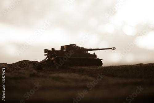 Fotomural  War Concept