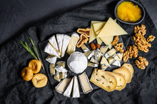 Assortment Of French Cheese Wi...