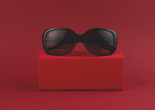 Fashionable Sunglasses On A Bo...