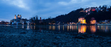 Panorama Of Passau At The Conf...