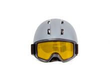 Ski Helmet Ski Goggles Isolate...