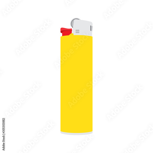 Cuadros en Lienzo Lighter icon isolated. Vector illustration