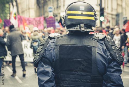 Fotografía manifestation dans la rue