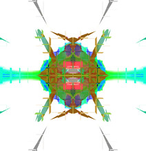Color Abstract Graphic Kaleido...