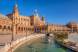 Leinwanddruck Bild - Scenes from Seville Spain