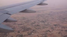 Aerial View Out Of An Etihad A...