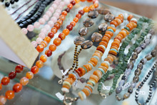 Natural Stone Bead Necklaces