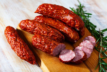 Smoked Sausages With Spices