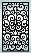 Vector Carved Window And Inter...