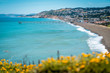 canvas print picture - Sunny day at Pacifica , California Bay Area