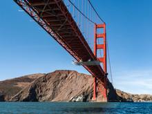 View Of Golden Gate Bridge From Below