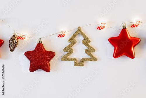 Valokuvatapetti Christmas or new year feat lay