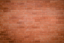 Old Red Bricks Wall For Texture And Background.