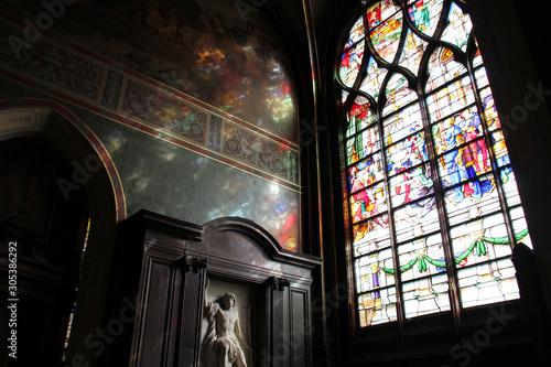 Saint-Gervais-Saint-Protais church - Paris - France Canvas Print