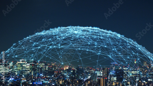 Photo 都市とネットワーク