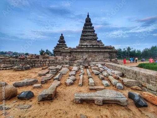 Fototapeta Mahabalipuram shore temple