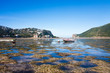 canvas print picture - Knysna Lagoon, Knysna Heads, Garden Route, South Africa