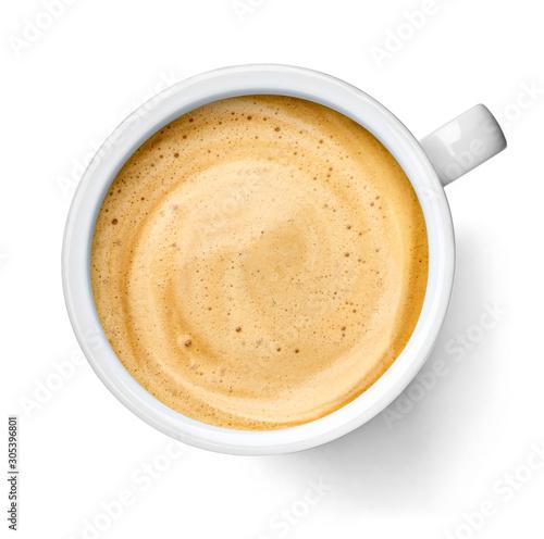 coffee cup drink espresso cafe mug cappuccino Canvas Print