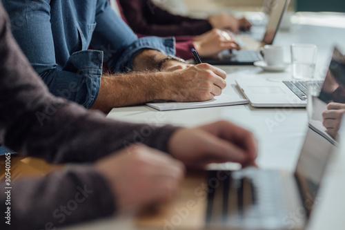 Fototapeta Business People Working obraz na płótnie